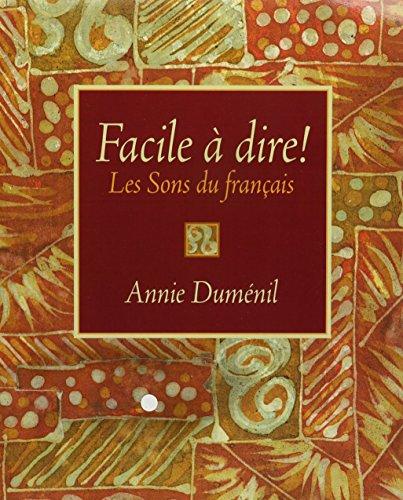 9780131039568: Facile à dire! Les sons du français with Audio CDs