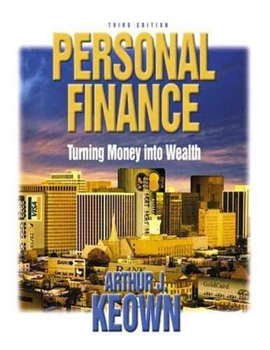 9780131041561: Personal Finance and Workbook and Software Guide Package, Third Edition