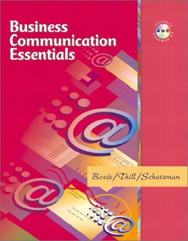 9780131048232: Business Communication Essentials with Grammar Assessment CD