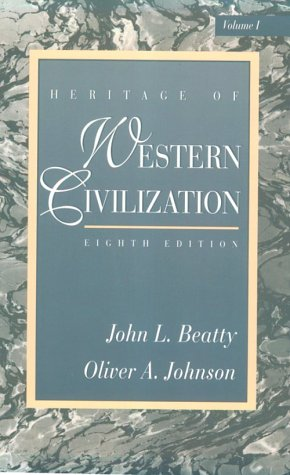 9780131048607: Heritage of Western Civilization, Vol. 1, Eighth Edition