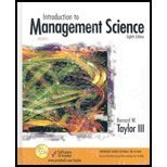 9780131050525: Introduction to Management Science: Student