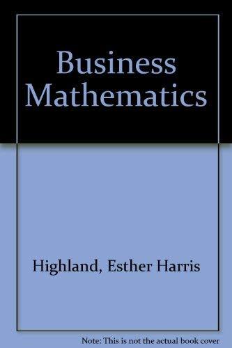 9780131051232: Business Mathematics