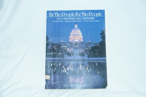 9780131051492: By the People, for the People: U.S. Government and Citizenship