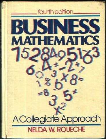 9780131052215: Business mathematics: A collegiate approach