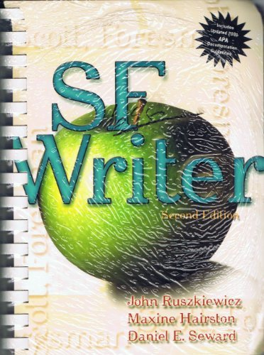 9780131053571: SF Writer with 2003 MLA Update, Second Edition