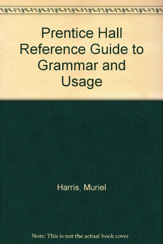 9780131053588: Prentice Hall Reference Guide to Grammar and Usage (Package Edition)