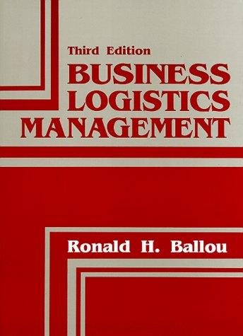 Business Logistics Supply Chain Management Ballou Pdf