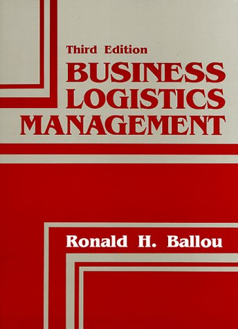 9780131055452: Business Logistics Management