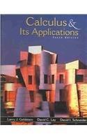 9780131055933: Calculus & Its Applications