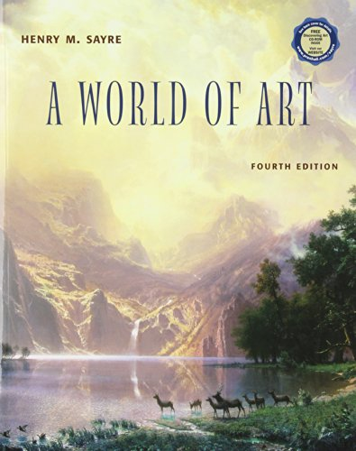 9780131056794: World of Art with CD-ROM & Artnotes Package, Fourth Edition