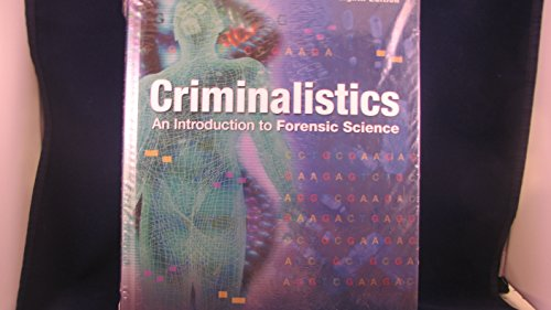 9780131059481: Criminalistics: Intro Forensic& Lab Mnl Pkg