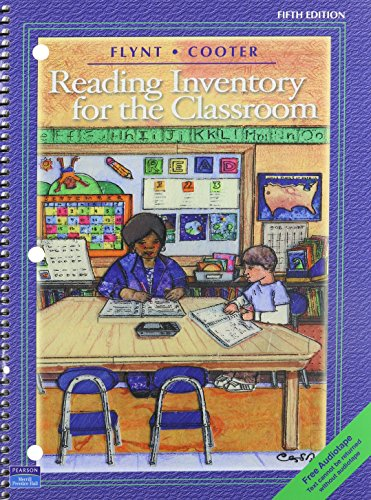 9780131065093: Reading Inventory for the Classroom & Tutorial Audiotape Package (5th Edition)