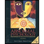 9780131065444: Abnormal Psychology: The Problem of Maladaptive Behavior Media and Research Update, 10th Edition