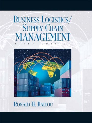 9780131076594: Business Logistics/Supply Chain Management and Logware CD Package (5th Edition)