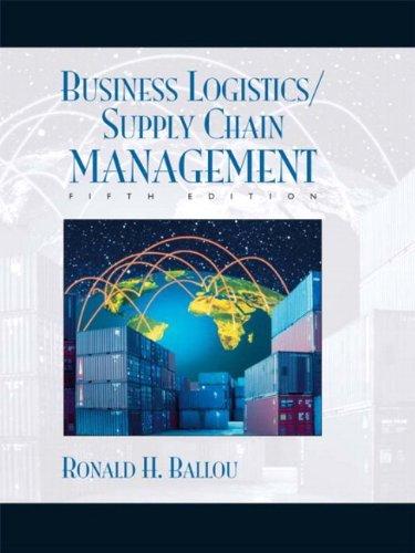 Business Logistics/Supply Chain Management and Logware CD: Ballou, Ronald H.