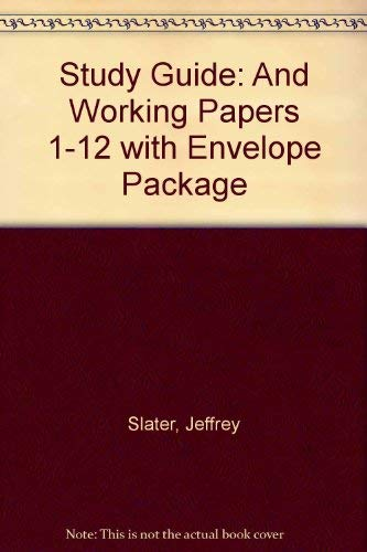 9780131076938: Study Guide& Working Papers 1-12 W/Envlpe Pk