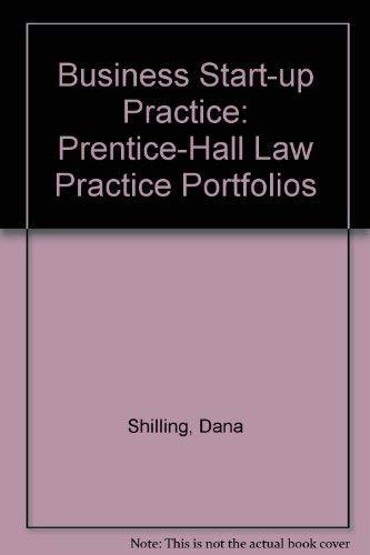 9780131077492: Business Start-Up Practice (Prentice-Hall Law Practice Portfolios)