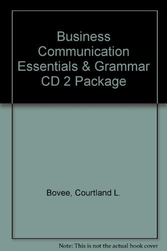 9780131079922: Business Communication Essentials & Grammar CD 2 Package
