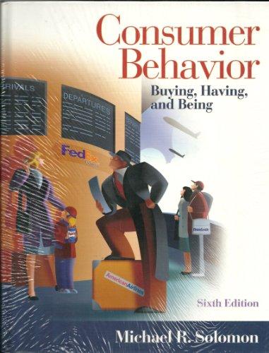 9780131080928: Consumer Behavior & Cases V1 & Cases V2 Pkg
