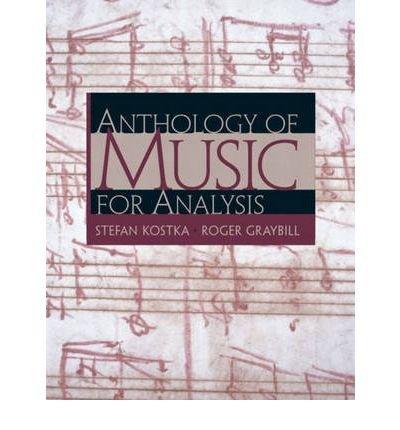 9780131085268: Anth of Music for Analysis & CD Set Pkg