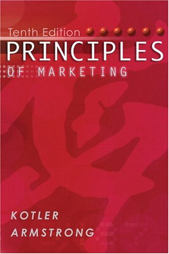 9780131088306: Principles of Marketing (with FREE Marketing Updates access code card) (10th Edition)