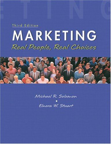 9780131088320: Marketing: Real People, Real Choices (with FREE Marketing Updates access code card) (3rd Edition)