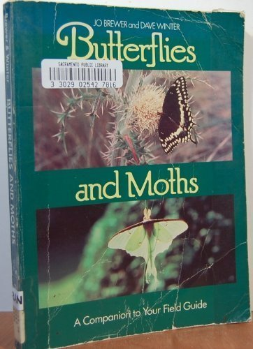 9780131088467: Butterflies and Moths: A Companion to Your Field Guide (Phalarope Books)