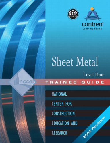 9780131089266: Sheet Metal: Trainee Guide Level 4