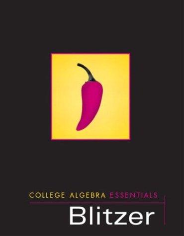 9780131090408: College Algebra Essentials