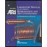 9780131091061: Lab Manual: Refrigeration and Air Conditioning: An Introduction to HVAC/R