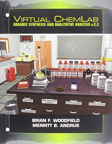 9780131091573: Virtual ChemLab, Organic Chemistry, Student Lab Manual/Workbook and CD Combo v2.2