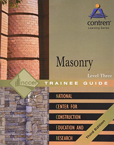 9780131091696: Masonry Level 3 Trainee Guide, Paperback (3rd Edition)