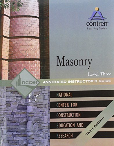 Masonry Level 3 AIG, 2004 Revision (9780131091719) by NCCER