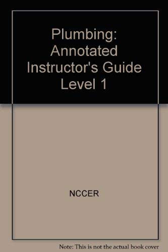 9780131091818: Plumbing: Annotated Instructor's Guide Level 1