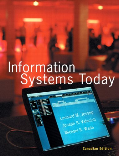 9780131092907: Information Systems Today, Canadian Edition