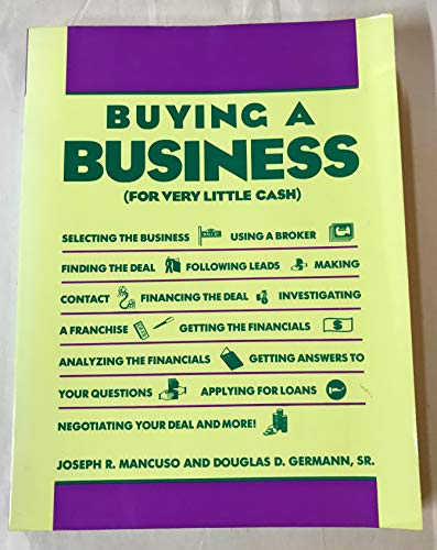 9780131095212: Buying a Business (For Very Little Cash)
