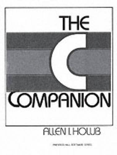 9780131097865: The C Companion
