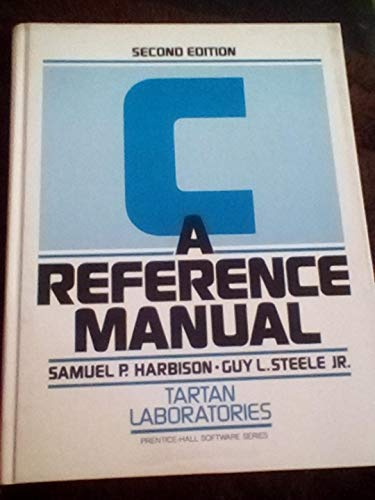 9780131098107: C Reference Manual