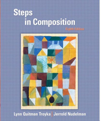 9780131100695: Steps in Composition (8th Edition)