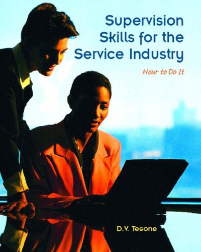 9780131100954: Supervision Skills for the Service Industry: How to Do it (Pearson Custom Library: Hospitality and Culinary Arts)