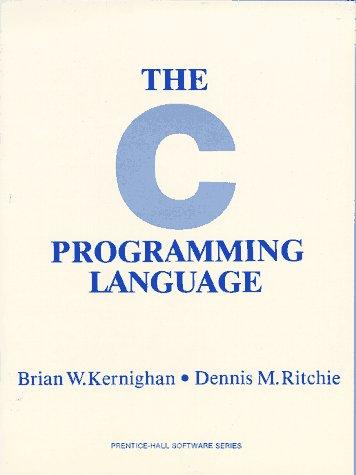 9780131101630: C. Programming Language