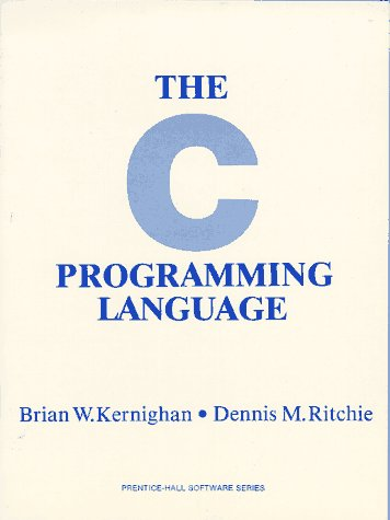 The C Programming Language: Brian W. Kernighan,