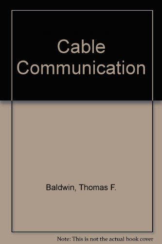 9780131101715: Cable Communication