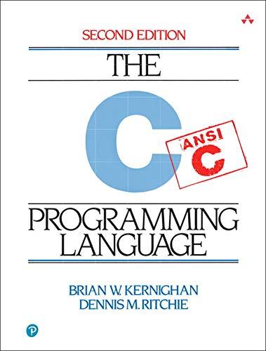 9780131103627: C Programming Language, 2nd Edition