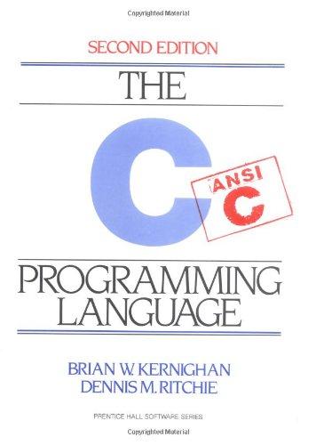 9780131103702: C Programming Language, 2nd Ed