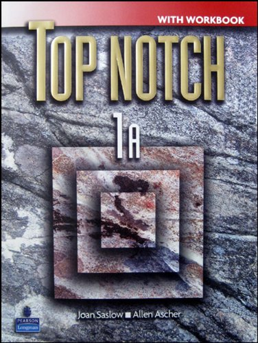 9780131104136: Top Notch: Split A with Workbook and Audio CD Level 1