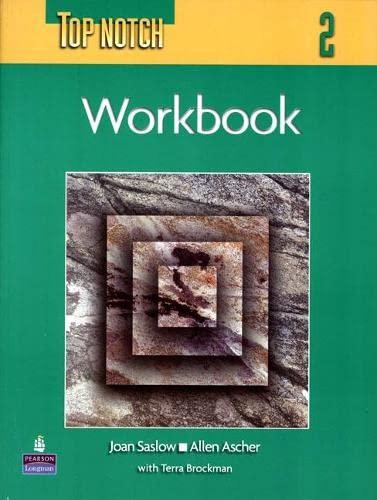 9780131104150: Top Notch 2 Workbook