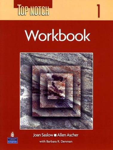 9780131104167: Top Notch 1 with Super CD-ROM Workbook