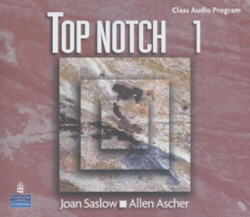9780131104198: Top Notch 1 Complete Audio Program (audio CDs): CD 1