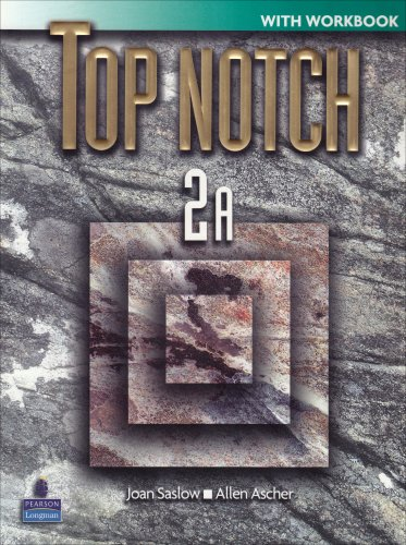 9780131104914: Top Notch 2 Split A with Workbook and Audio CD
